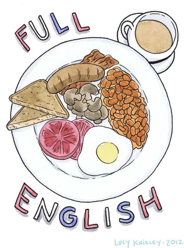 Crave This Photo Food Illustrations Full English Breakfast English Breakfast