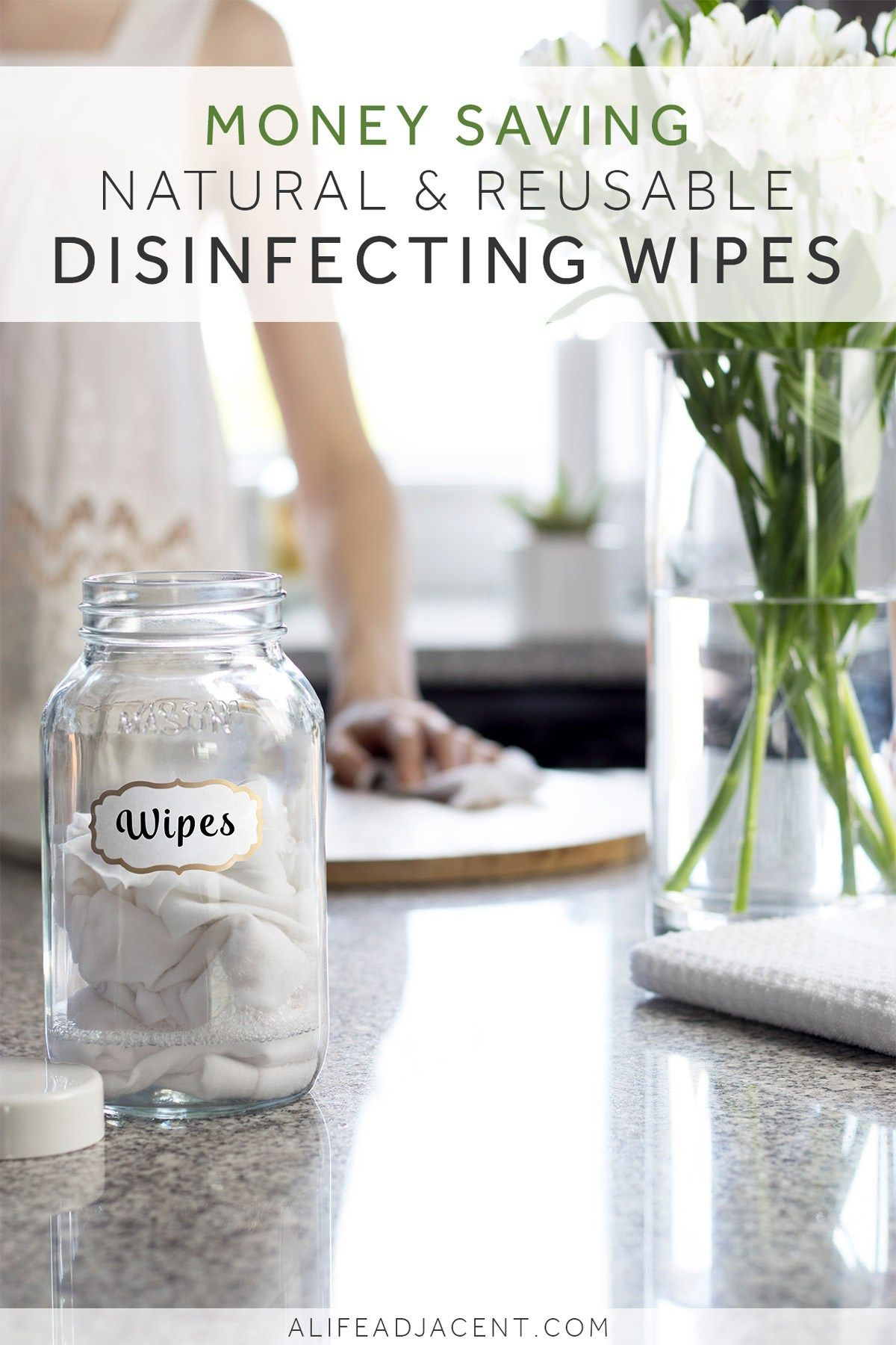 DIY Disinfecting Wipes (Natural & Reusable) Disinfecting