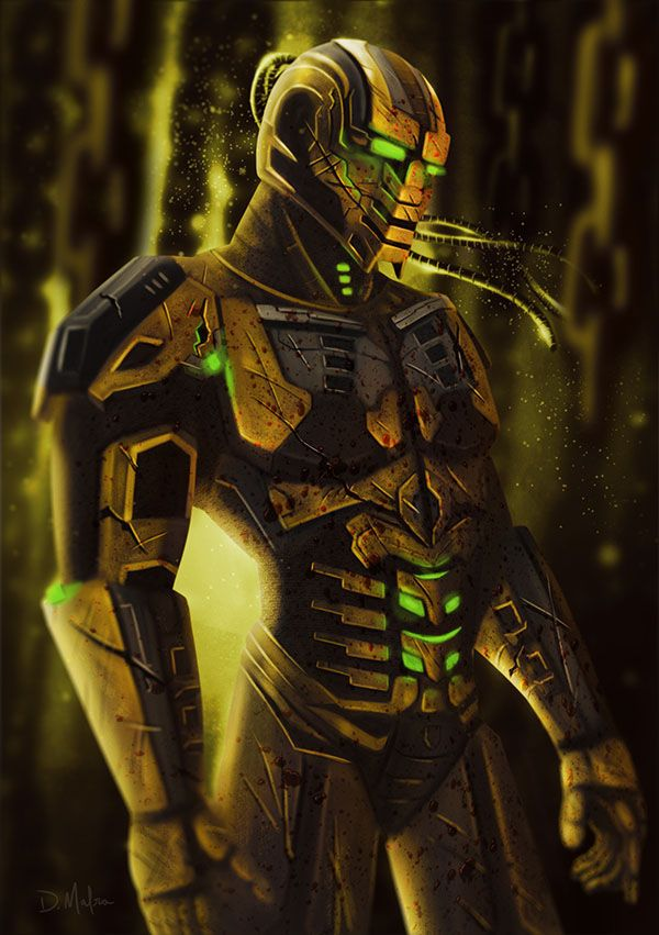 Cyber Cyrax Mortal Kombat On Behance Mortal Kombat Characters