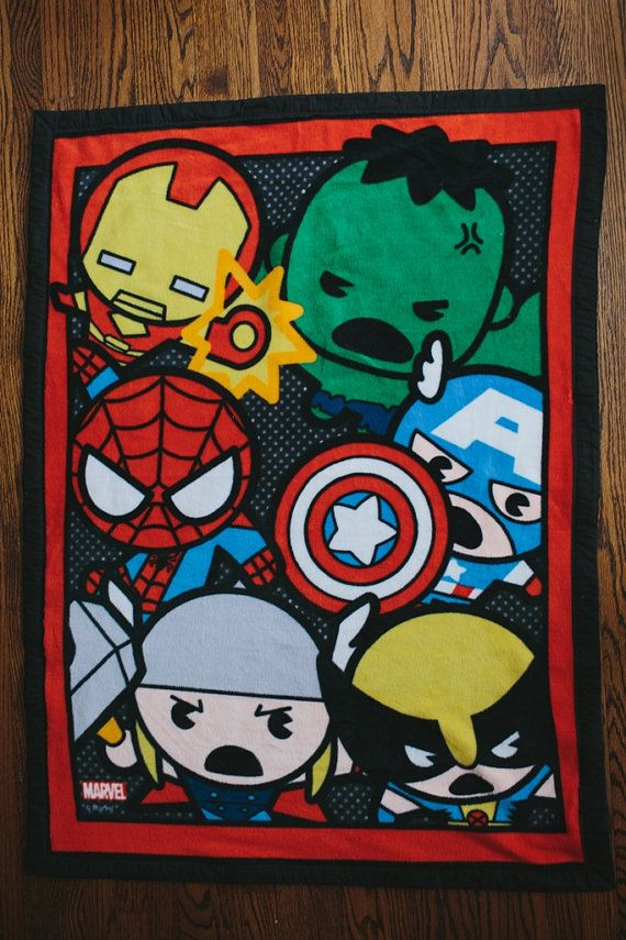 Last One Marvel Kawaii Toddler Baby Blanket Kawaii