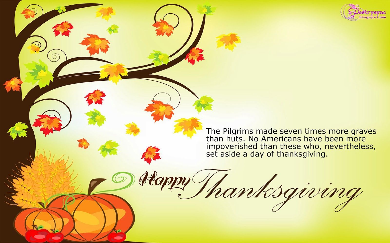 Family Wallpaper Quote Hd Wish: Thanksgiving Quotes About Family