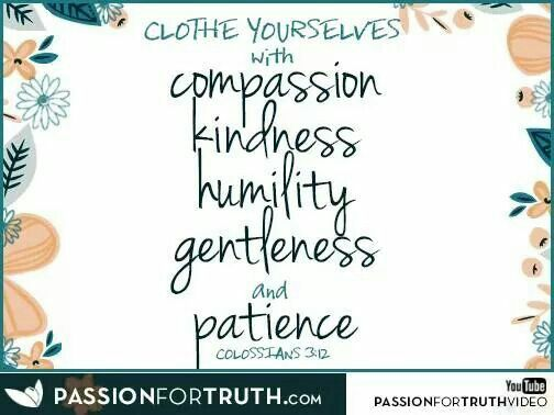 Col  3:12. ... clothed yourselves !!