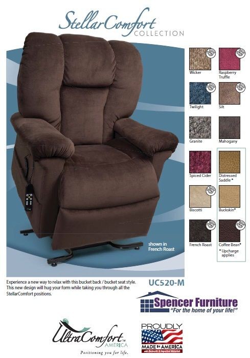 LIFTCHAIRUC520 in by UltraComfort in Spencer, MA - Lift Chair Recliner UC520