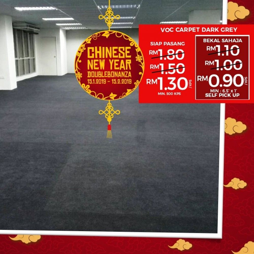 Chinese New Year Double Bonanza Promo Is Running On Officecarpets Selangor Office Carpet Carpet Selangor
