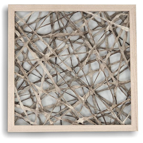 Zentique Abstract Paper Framed Art A 213 Liked On Polyvore Featuring Home Home Decor Wall Art Paper Wall Paper Wall Art Abstract Paper Paper Wall Decor