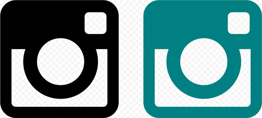 Instagram Square Logo Teal Black Instagram Square Square Logo Instagram