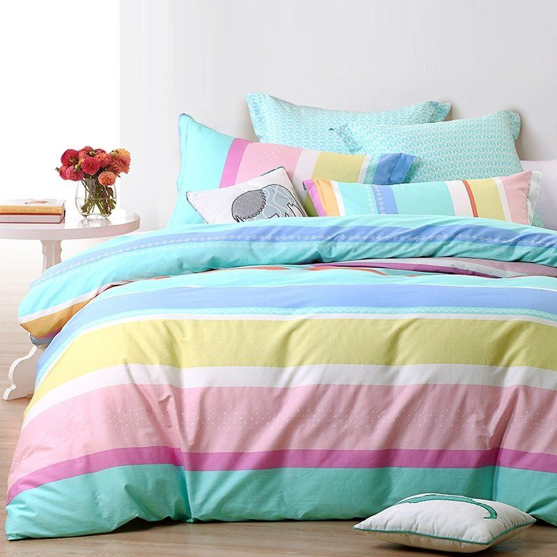 Pastel Turquoise Purple Pink White Yellow And Blue Neon Rainbow
