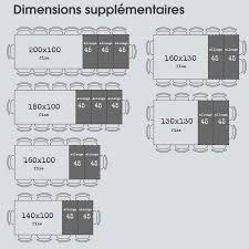 Resultat De Recherche D Images Pour Dimension Tables A Manger