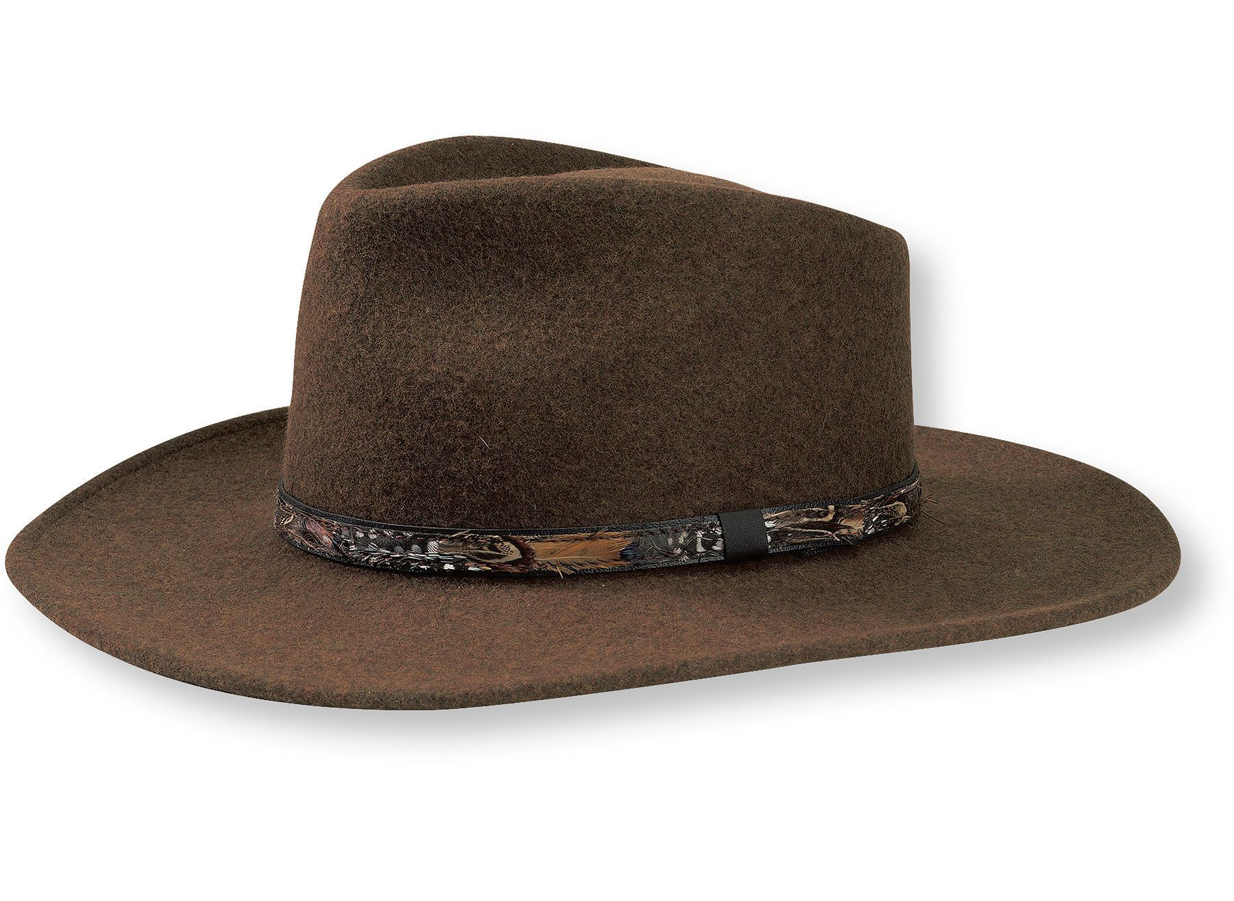 Men s Stetson Expedition Crushable Wool Hat  69 bb9d5486a6d