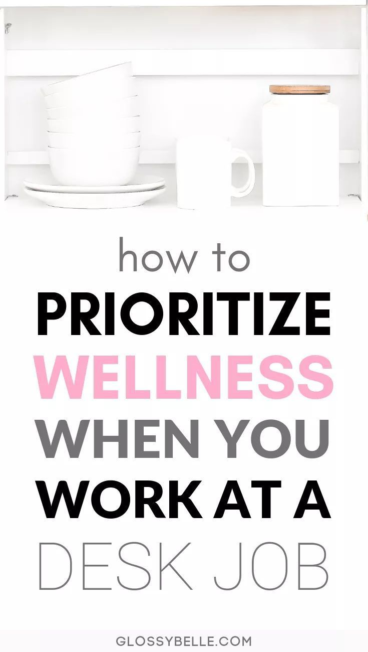 Working at an office job can be mentally and exhausting Here are some easy tips to take care of yourself and stay motivated healthy and sane when you work at a 9 to 5 des...
