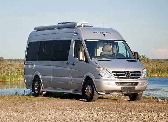 sprinter class b rv mercedes benz by leisure travel vans