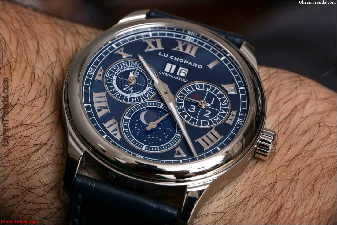 Chopard LUC Monduhr Perpetual Calendar Watch Review uhren
