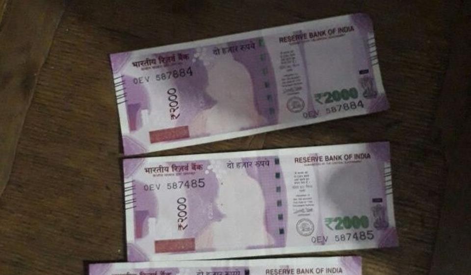 Demonetisation effect:Mahatma Gandhi goes missing on the new Rs 2000 notes