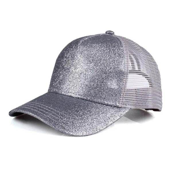 591dc2d455ea4 Gray Glitter CC Pony Cap – Sweet As A Peach Boutique