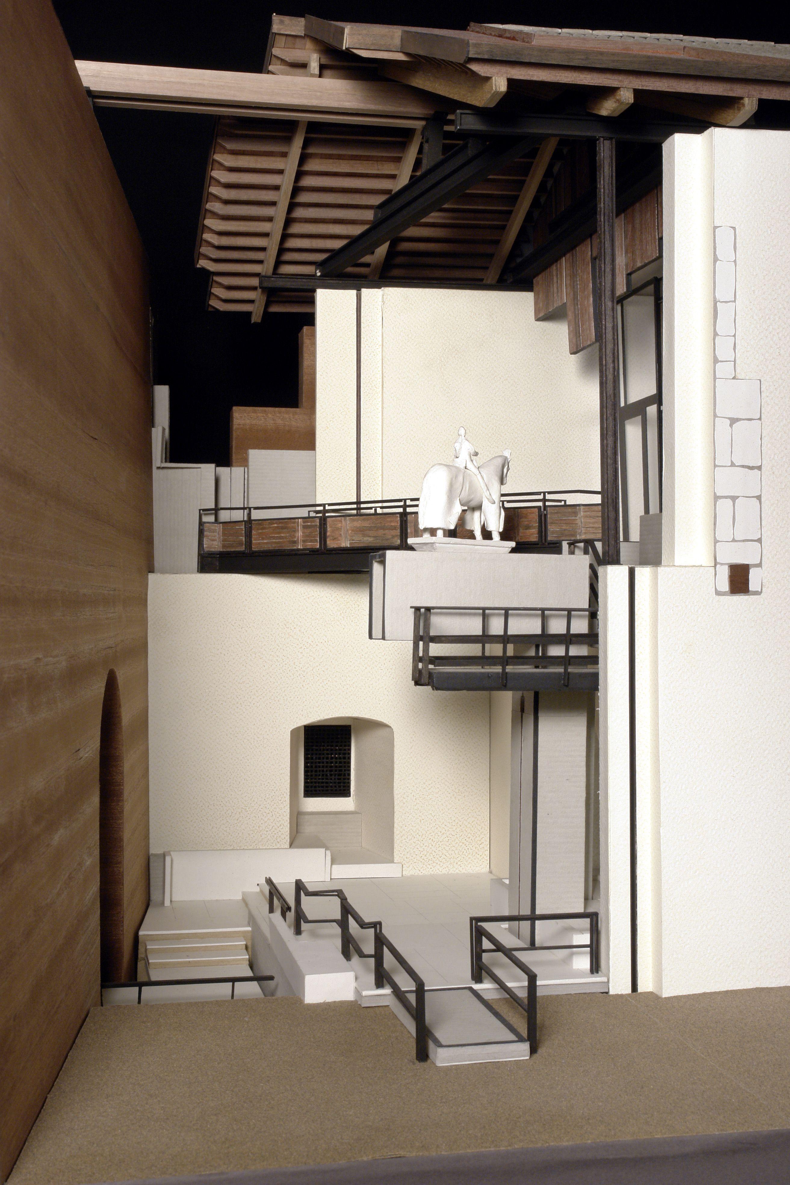 Sistemazione del cangrande museo di castelvecchio verona for Interior design politecnico di milano