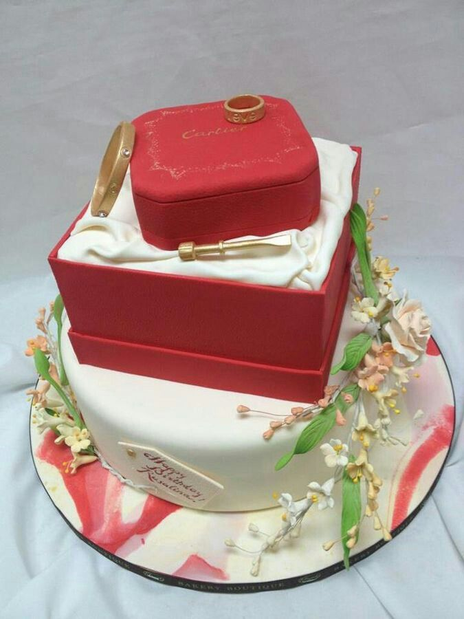Cartier Cake Cake Ideas Pinterest Cartier Luxury Cake And Cake