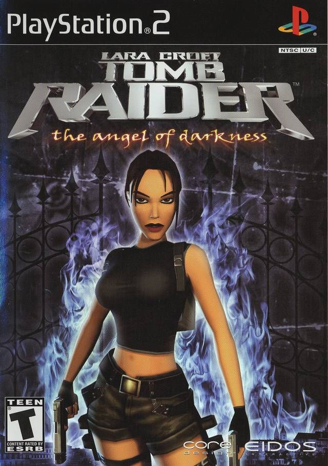 Tomb Raider Angel Of Darkness Sony Playstation 2 Game Tomb Raider Dark Angel Tomb Raider Game