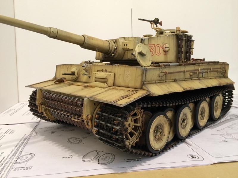 KV-1, Model 1941, Hobbyboss 1/48 - Panzermodelling