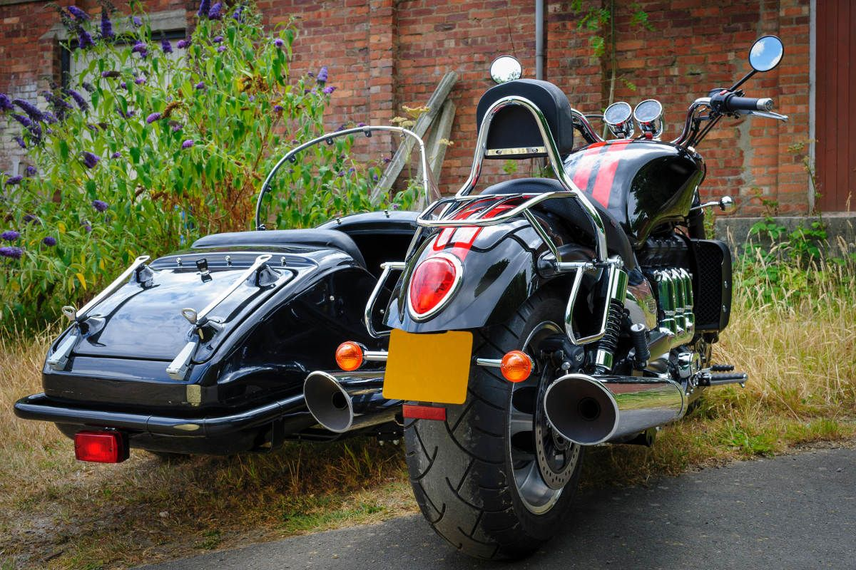 The Watsonian Gp700 Sidecar Now Fits The Triumph Rocket 3 Sidecars