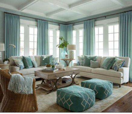 45 Gorgeous Coastal Living Room Decorating Ideas Costal