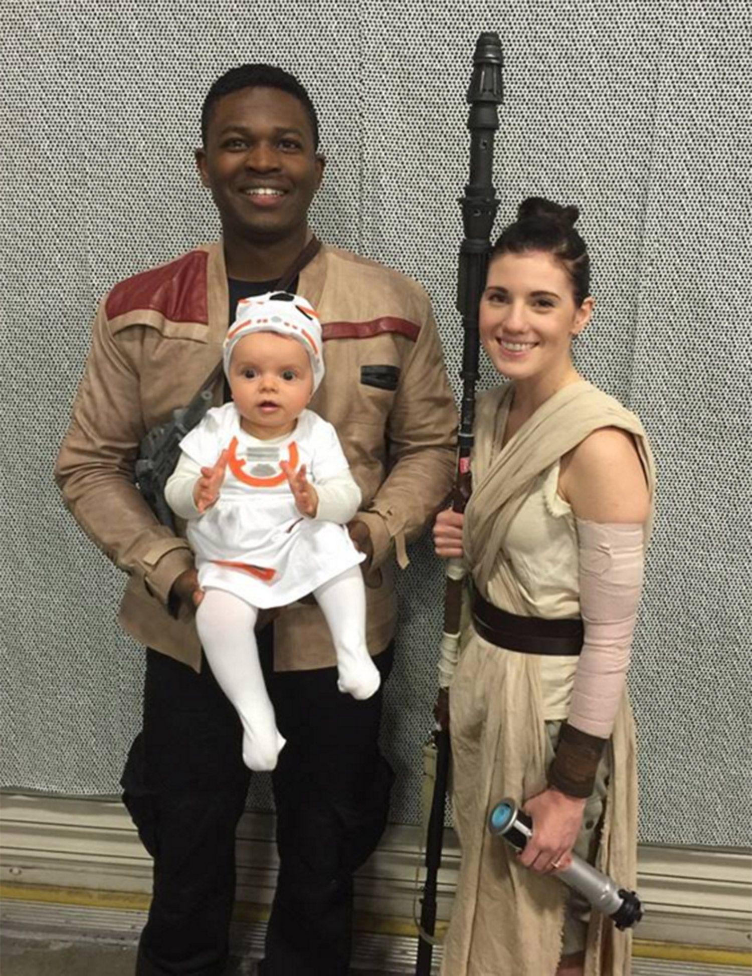 Star Wars Awakens Family Costume Baby Bb8 Fall Pinterest
