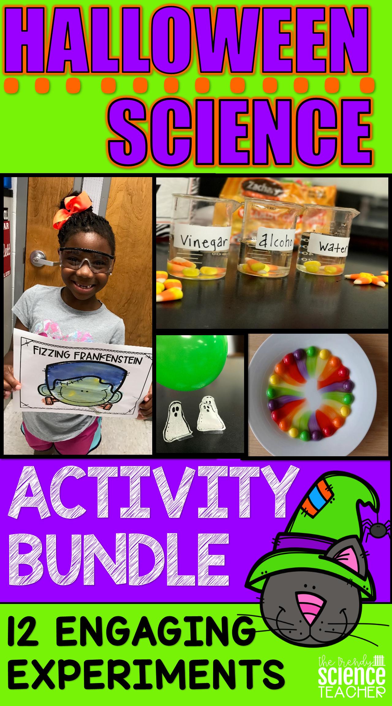 Halloween Science Activity Bundle
