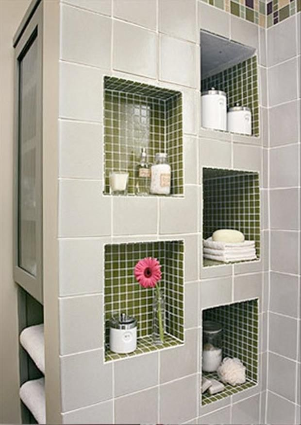 Meanwhile in my pinterest bathroom 35 pics home ideas for Bathroom built in shelving ideas