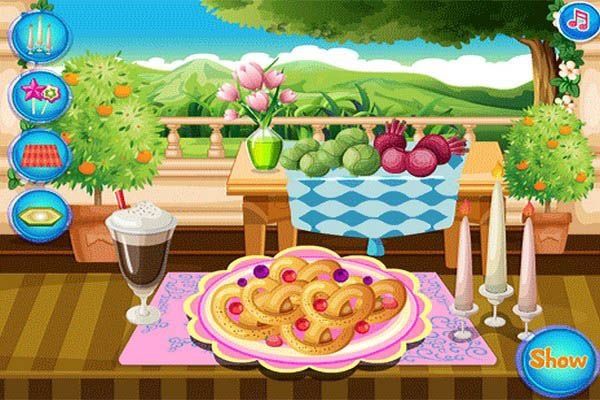 Play Online Cooking Frenzy Pretzels Game Free At Atmegame Com