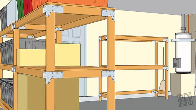 Heavy Duty Shelving Diy Diy Storage Shelves Metal Shelving Units Shelving