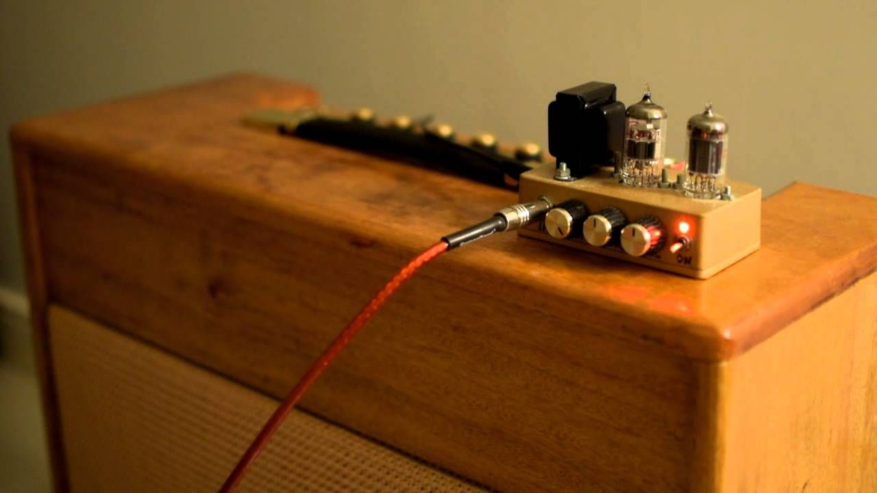 12ax7 12au7 SE tube amplifier - YouTube