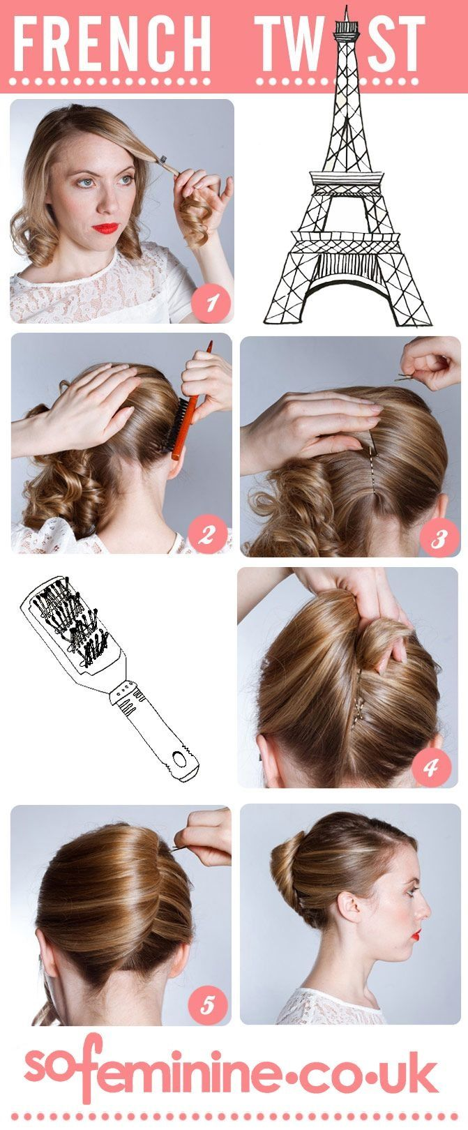 French Twist How To Luscious Locks In 2018 Pinterest Hair