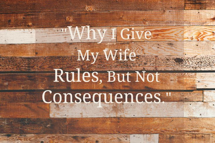 Ex Domestic Discipline Hoh Why I Make Rules But Not Consequences
