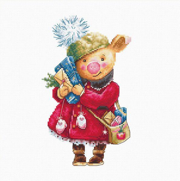 картинка Набор для вышивания Luca-S B1153 Рождественская ...
