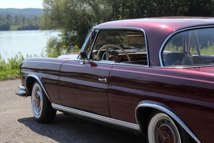 Mercedes 220 SE Coupe 1961