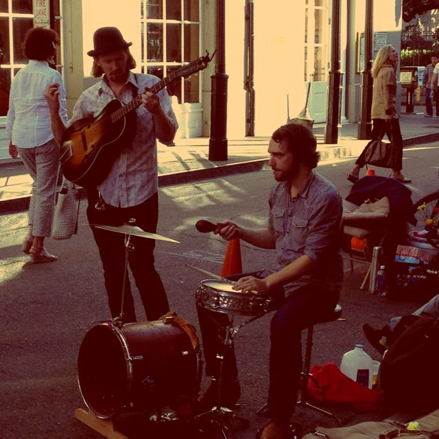 It's all about the music in Nola...and the food