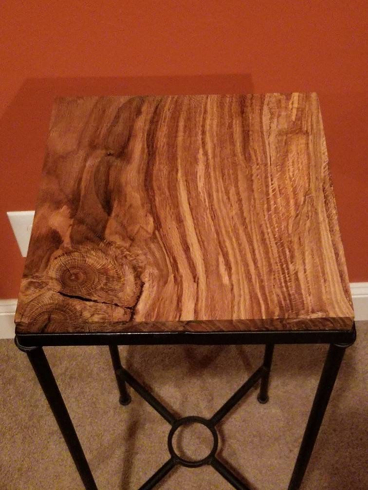 Unique Oak Wood Topped Table in 2019 | Harris Wood Creations ...