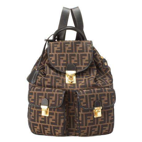Fendi Zucca Backpack dfb02f20fa780