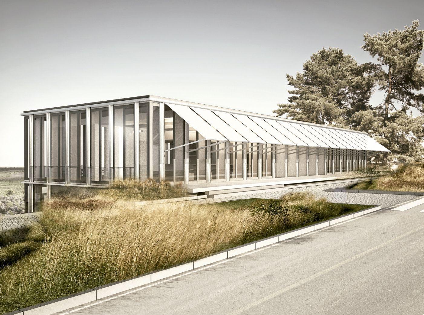 Emilio tu n gastro pavilion at h nggerberg zurich for Gastro architektur