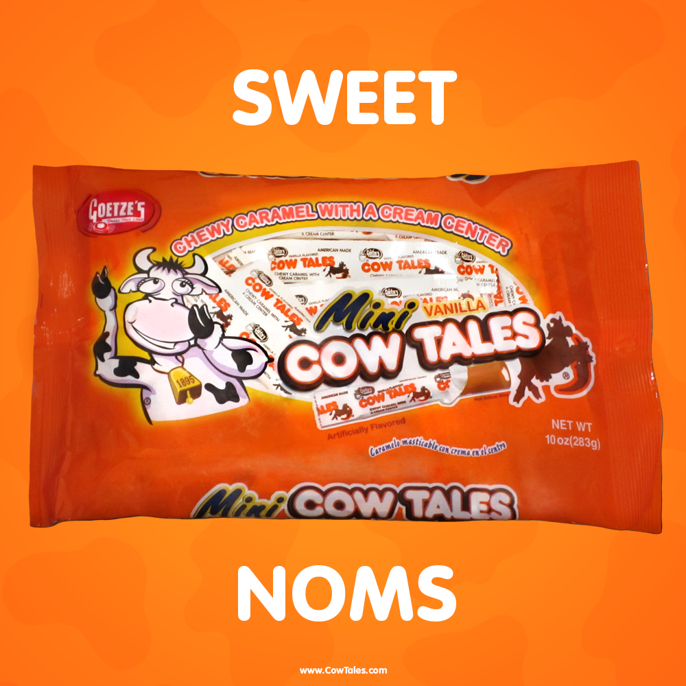 Mini Cow Tales chewy caramel with the cream center make the sweetest noms! #nomnom