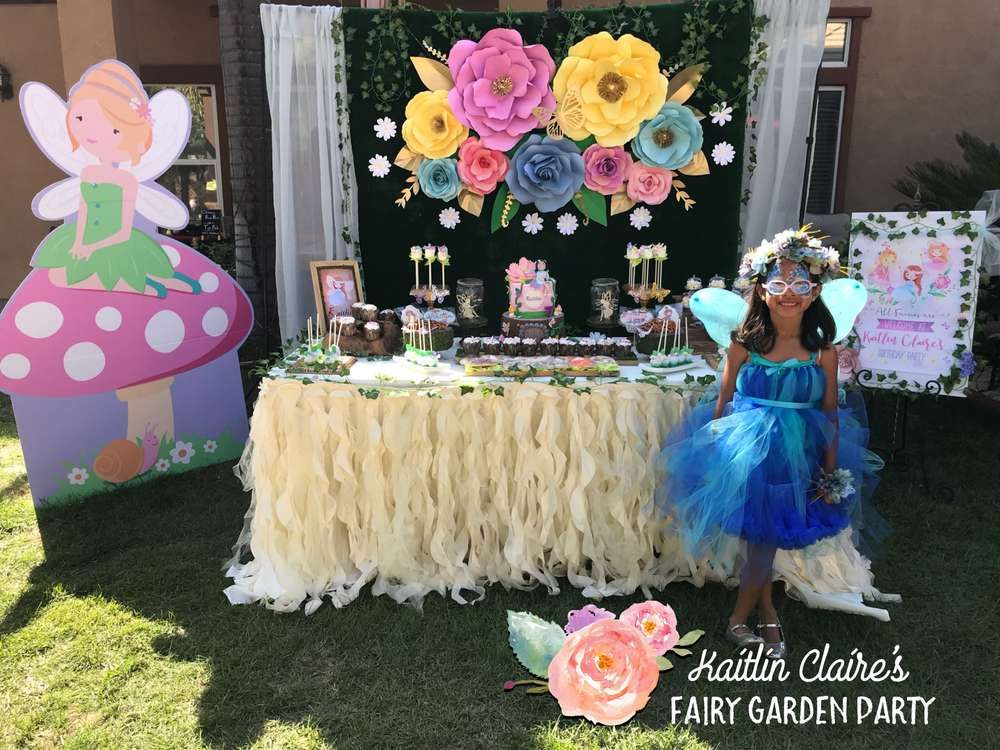 Fairy Garden Birthday Party Ideas Garden Birthday Parties Garden