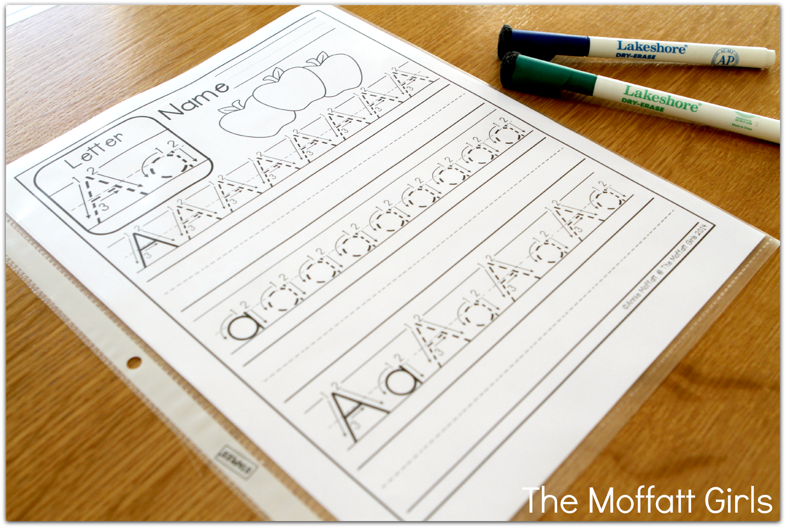Print These Free Handwriting Sheets Place In Sleeve