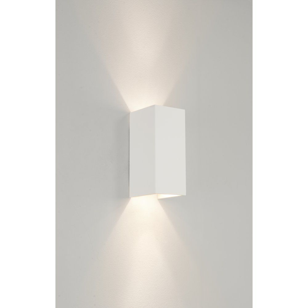 Astro 0964 Parma 210 2 Light Up/Down Wall Light Plaster | Home Ideas ...