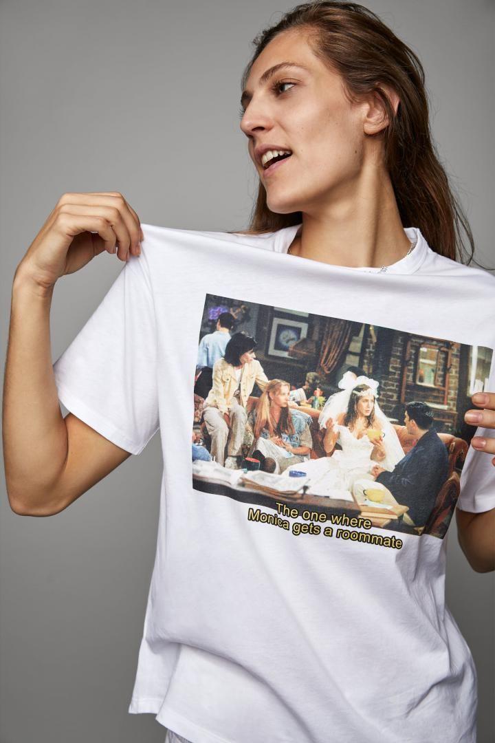 ON VEUT: un t-shirt de la collection Friends de Zara
