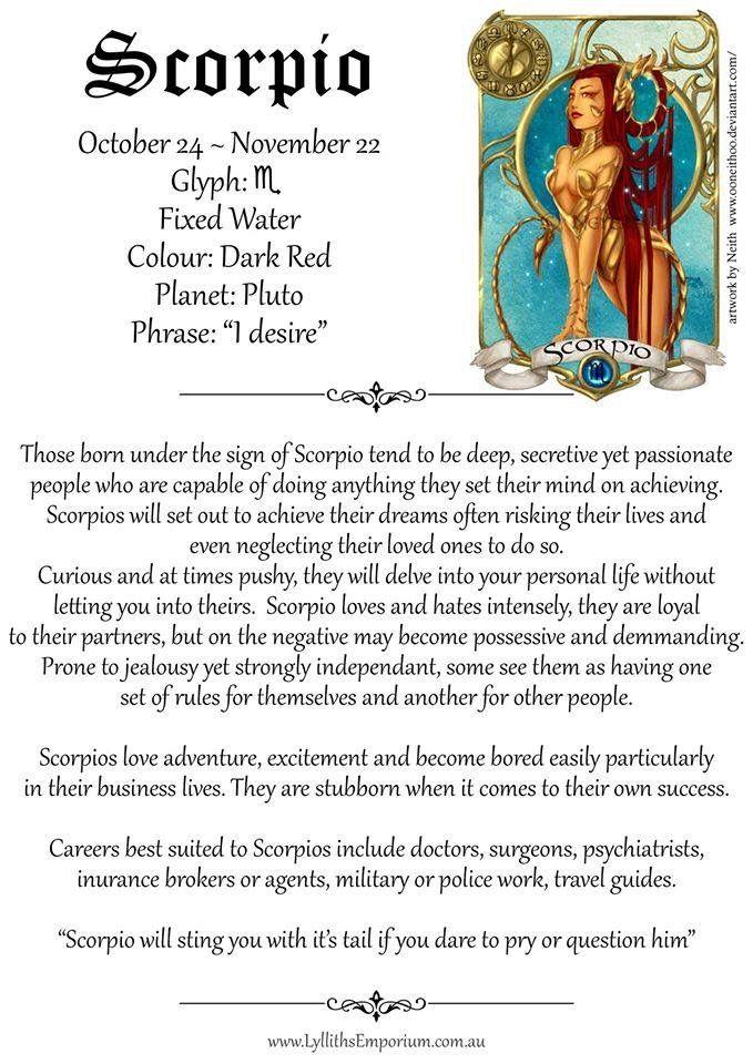 Pin by Rebecca Cato on Astrology/Zodiac | Zodiac signs, Scorpio