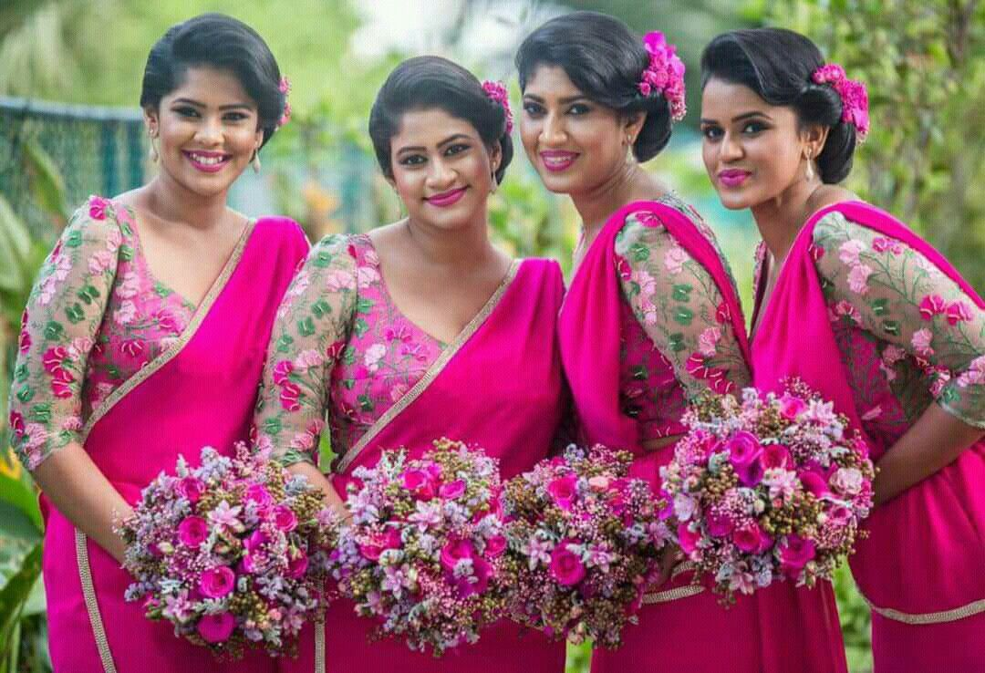 Dressed by Dhananjaya Bandara | Kandian Brides | Pinterest