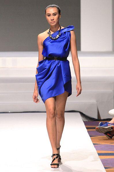 Royal Blue Toga Dresses