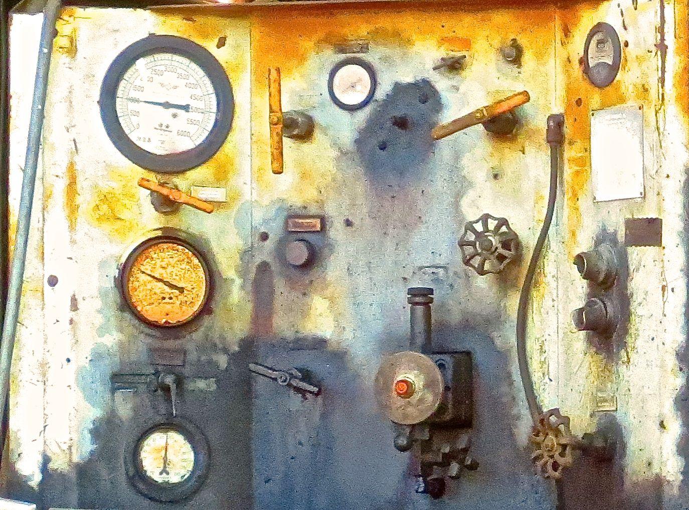 machine panel