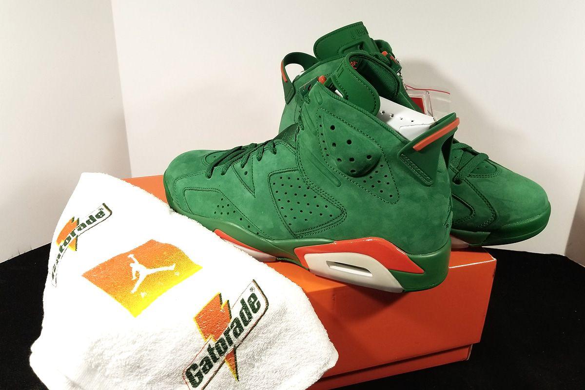"62bfc5fd6bd4 Air Jordan 6 Retro NRG ""Gatorade"" Pine Green Edition - EU Kicks Sneaker  Magazine"