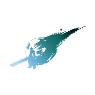 Final Fantasy 7 T Shirts Page 6 Teepublic Final Fantasy Sword Tattoo 7 Tattoo