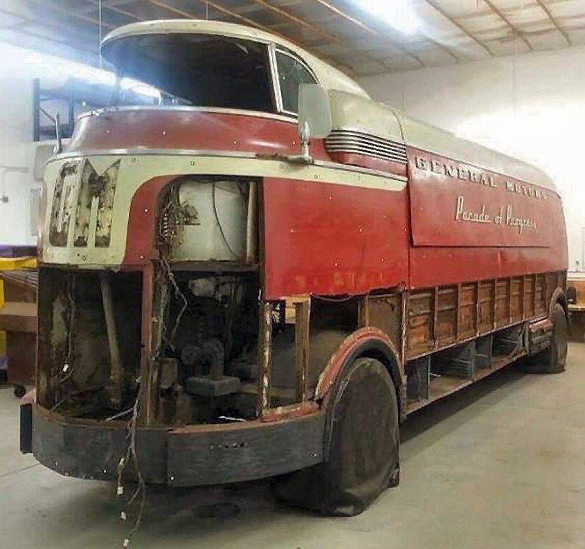 GM Futurama Truck used at 1939 World\'s Fair | Vintage Auto ...
